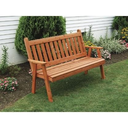 Current Traditional English Glider Benches For Furniture Barn Usa Cedar Outdoor 4 Foot Traditional English (Gallery 7 of 20)