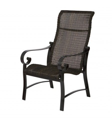 Dining Arm Chair Throughout 2019 Woven High Back Swivel Chairs (View 3 of 20)