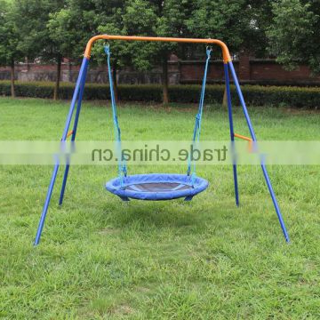 Dks Metal Ourdoor Nest Swing Sets For Adult, Rope Swing Within Favorite Nest Swings With Adjustable Ropes (View 6 of 20)