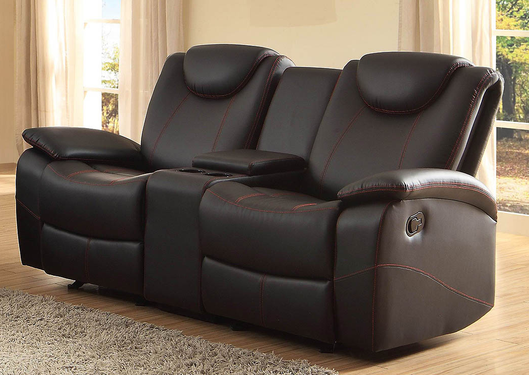 Double Glider Loveseats With Most Up To Date D&n Furniture – Scranton, Pa Talbot Black Double Glider (View 5 of 20)