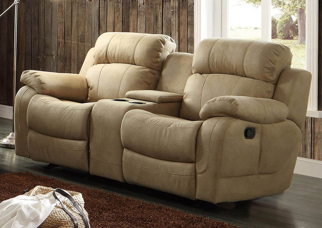 Double Glider Loveseats With Trendy Best Buy Furniture And Mattress Marille Taupe Double Glider (Gallery 13 of 20)