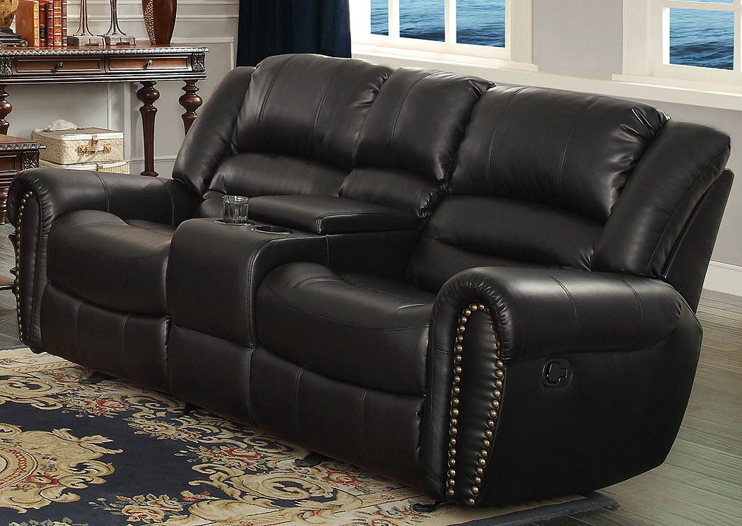 Double Glider Loveseats Within Current Ideal Furniture And Mattress Center Hill Black Double Glider (Gallery 19 of 20)