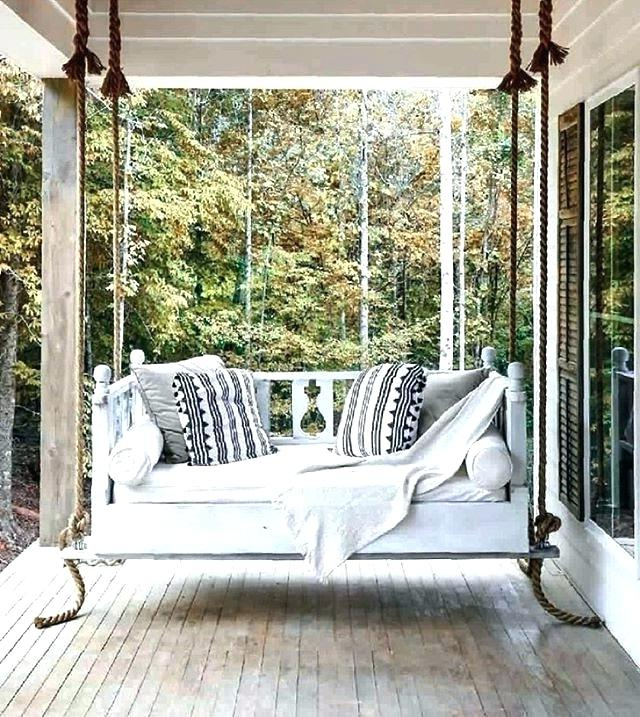 Famous Day Bed Porch Swings In Porch Swing Beds Charleston – Thehimalaya (Gallery 10 of 21)