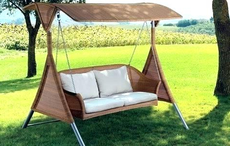 Famous Outdoor Swings With Canopy For Adults – Stiickman Within Porch Swings With Canopy (Gallery 5 of 20)
