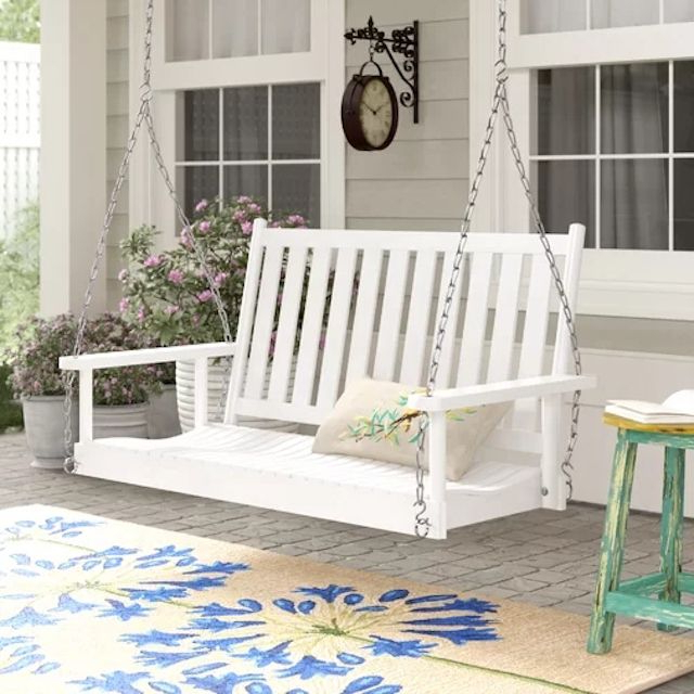 Famous Porch Swings With Regard To The 8 Best Porch Swings Of  (View 3 of 20)