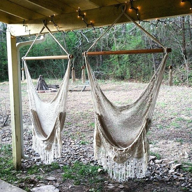 Famous Sitting Hammock – Vinnymo Regarding Cotton Porch Swings (View 19 of 20)