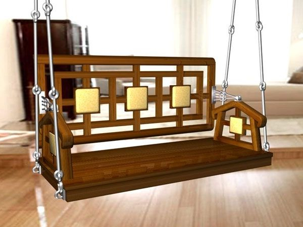 Famous This Image Is About: Teak Porch Swing – A Calming Seating Within Teak Porch Swings (Gallery 8 of 20)