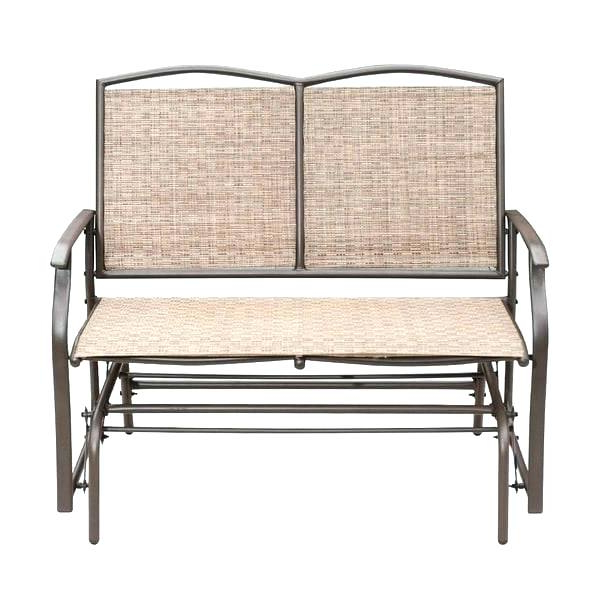 Fashionable Wicker Patio Bench With Storage – Wps Refund For Indoor/outdoor Double Glider Benches (Gallery 2 of 20)