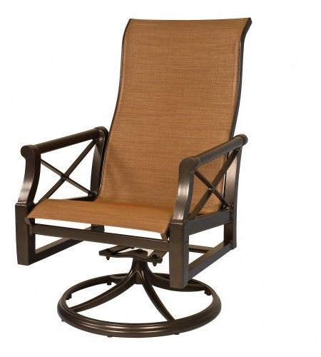 Favorite Andover Sling High Back Swivel Rocker (Gallery 11 of 20)