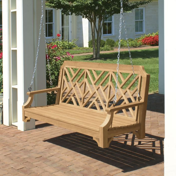 Favorite Teak Porch Swings Throughout Chippendale 5 Ft (View 5 of 20)