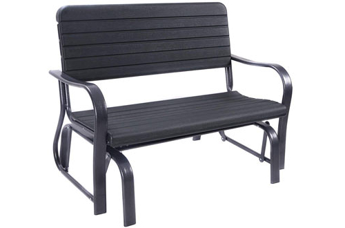 Favorite Top 10 Best Outdoor Glider Benches Reviews In 2020 Within Rocking Love Seats Glider Swing Benches With Sturdy Frame (Gallery 17 of 20)