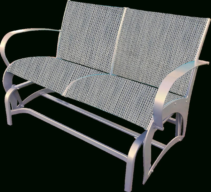 Florida Patio: Outdoor Patio Furniture Intended For Speckled Glider Benches (View 8 of 20)