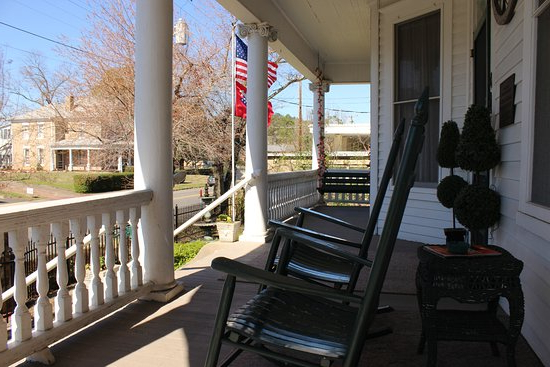 Fordyce Porch Swings Intended For 2020 Relaxing In One Of The Front Porch Swings – Picture Of The (View 14 of 20)