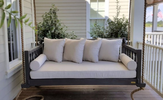 "Free Shipping! The ""madison"" Porch Swing (View 4 of 20)"