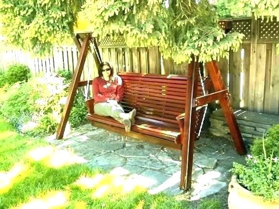 Free Wooden Porch Swing Plans – Dodongmynghe For Current Patio Porch Swings With Stand (Gallery 20 of 20)
