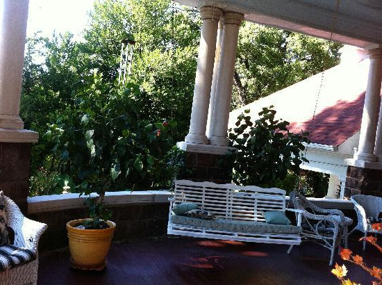 Front Porch Swing So Inviting – Picture Of 1890 Williams Regarding Most Popular Fordyce Porch Swings (View 16 of 20)