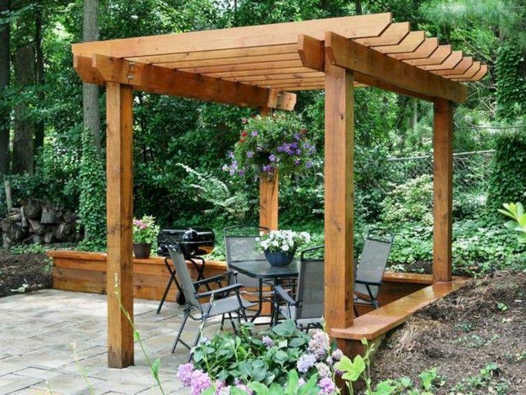 Gardening Inside A4 Ft Cedar Pergola Swings (View 11 of 20)