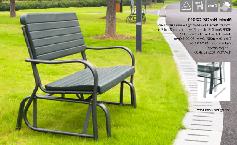 Giantex Outdoor Patio Swing Porch Rocker Glider Bench Loveseat Garden Seat Plastic – Buy Plastic Garden Seat,garden Seating Area,garden Seating Ideas Intended For Preferred Outdoor Patio Swing Porch Rocker Glider Benches Loveseat Garden Seat Steel (View 4 of 20)