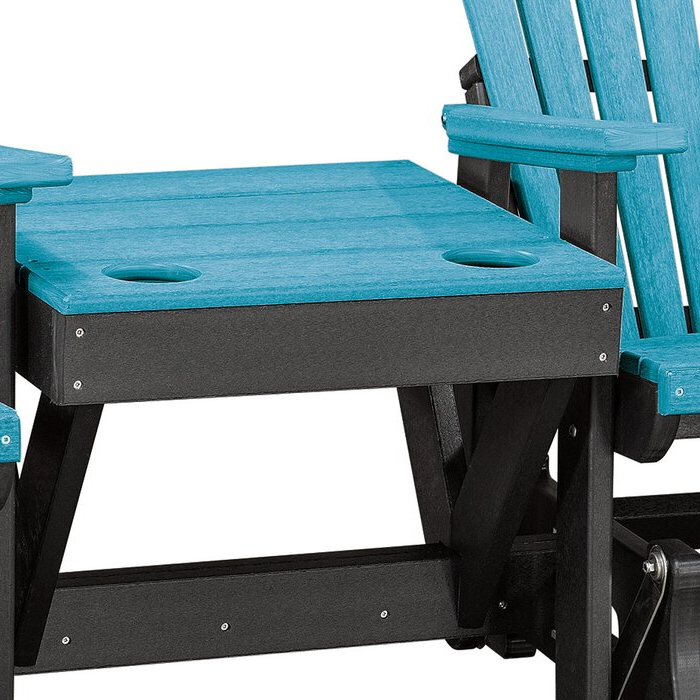 Gina Center Table Double Glider Bench Pertaining To 2020 Center Table Double Glider Benches (Gallery 15 of 20)