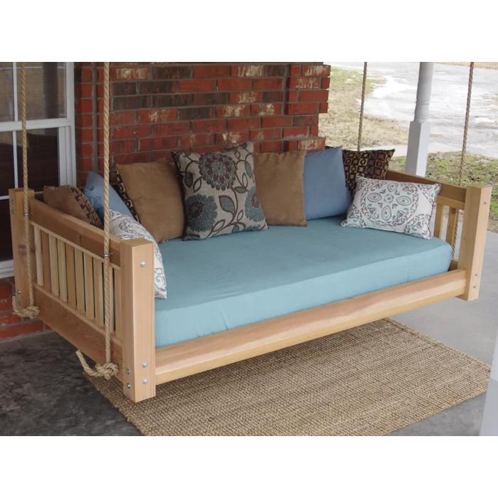 Featured Photo of Hanging Daybed Rope Porch Swings