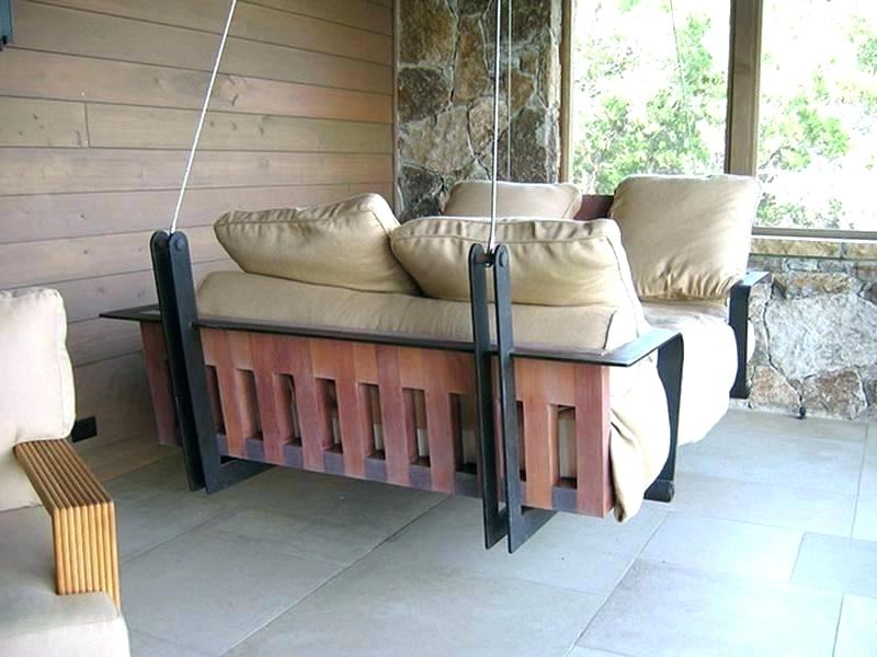 Hardwood Hanging Porch Swings With Stand In Latest Hanging Porch Swing Hardware Home Depot Wood Bench Patio (View 11 of 20)