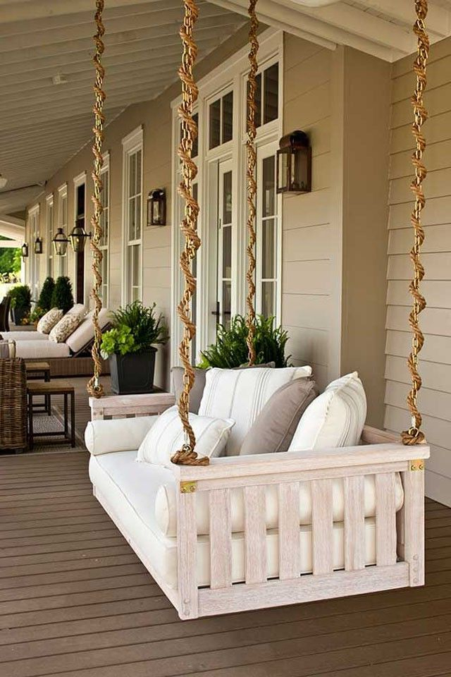 House Front Porch, Porch Swing, Home Decor Within Porch Swings With Chain (View 7 of 20)