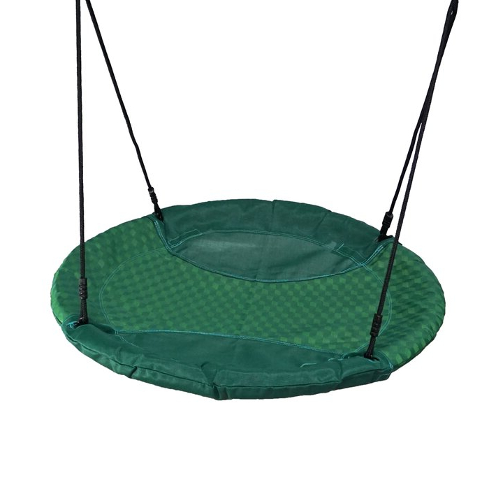 Jacks Household 24 Round Hanging Seat Nest Swing Set Spider Inside Most Up To Date Nest Swings With Adjustable Ropes (View 14 of 20)