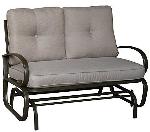 Featured Photo of Rocking Love Seats Glider Swing Benches With Sturdy Frame