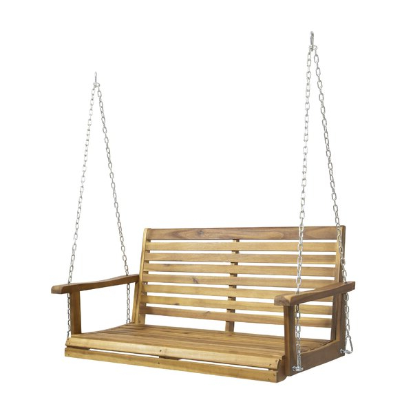 Lamp Outdoor Porch Swings Intended For Trendy Find Hamblin 2 Person Patio Porch Swingfleur De Lis (View 3 of 20)