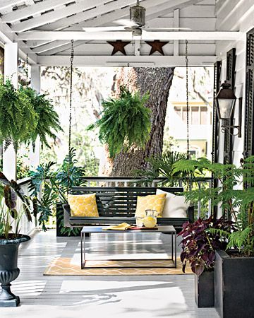 Lamp Outdoor Porch Swings Throughout Well Known Diy Home Projects (View 9 of 20)