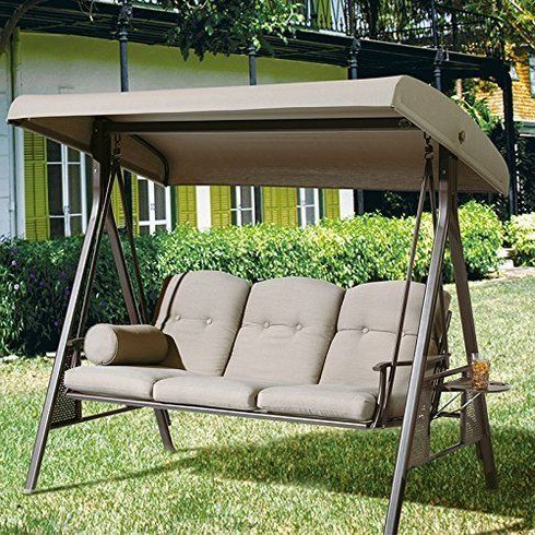 Featured Photo of 3 Seat Pergola Swings