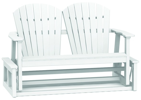 Latest Shellback Glider – Wood – The Great Escape For Iron Grove Slatted Glider Benches (View 11 of 20)