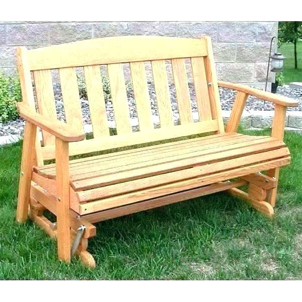 Lifetime Glider Bench – Kertonyono With Regard To Preferred Outdoor Patio Swing Glider Bench Chairs (View 10 of 20)
