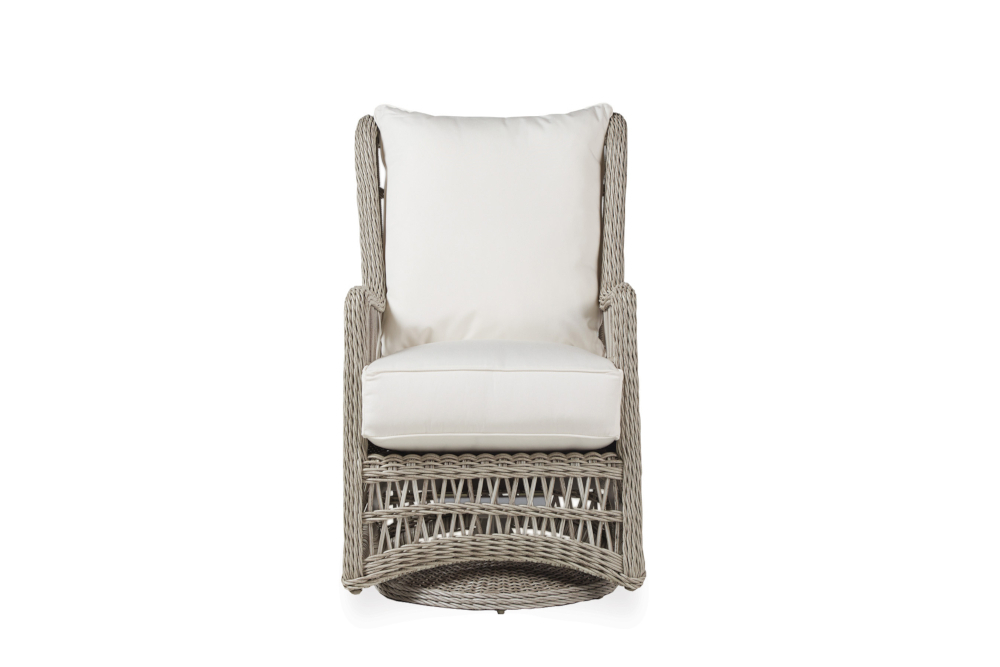 Lloyd Flanders – Premium Outdoor Furniture In All Throughout Woven High Back Swivel Chairs (View 6 of 20)