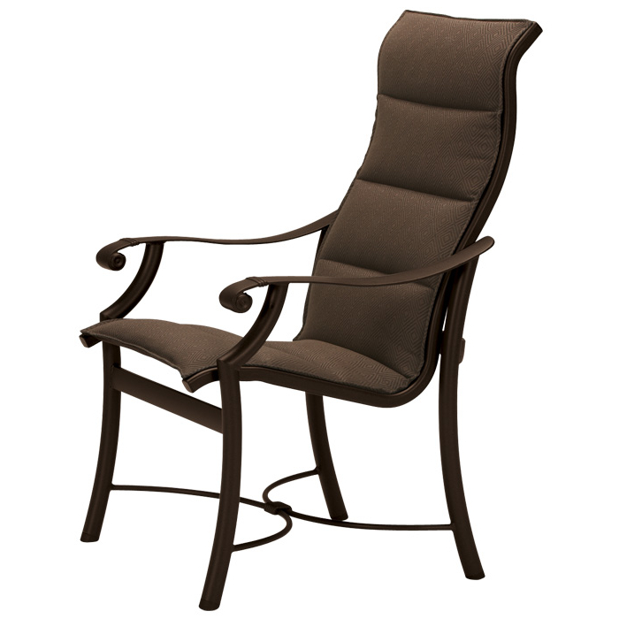 Montreux Padded Sling Dining Chair With High Back 710101Ps For Most Recently Released Padded Sling High Back Swivel Chairs (Gallery 17 of 20)
