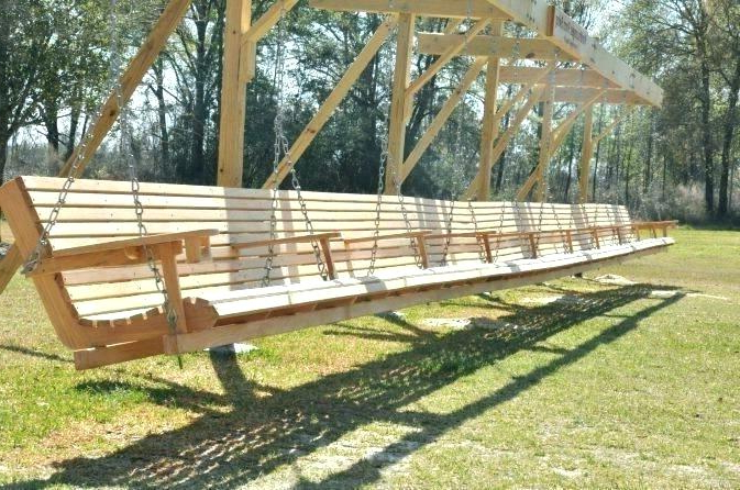 Most Current Garden Swing Bench – Matarakyat.co Inside Hardwood Hanging Porch Swings With Stand (Gallery 16 of 20)