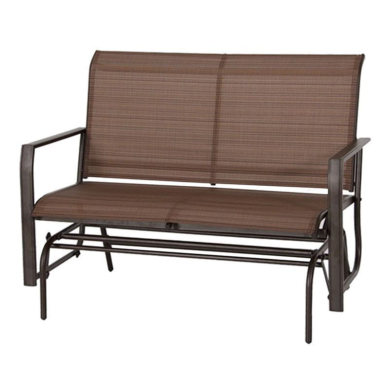 Most Current Loveseat Glider Benches For Sonoma Goods For Life™ Coronado Patio Loveseat Glider (View 9 of 20)
