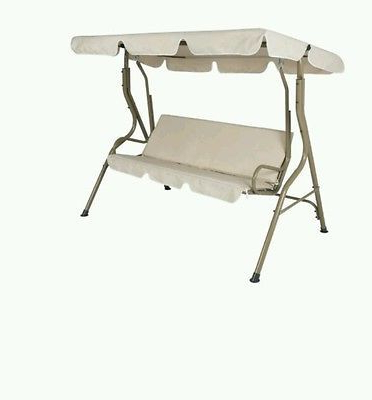 Most Current Patio Swing Canopy 2 Person Chair Porch Outdoor Backyard With Regard To 2 Person Hammock Porch Swing Patio Outdoor Hanging Loveseat Canopy Glider Swings (Gallery 8 of 20)