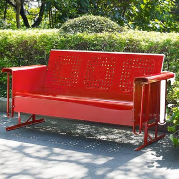 Most Current Retro Patio Furniture & Metal Glider Just Like You Remember! In Metal Retro Glider Benches (Gallery 17 of 20)