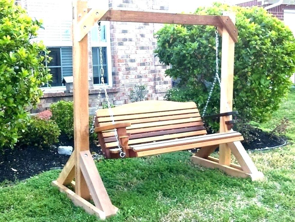Most Popular 2 Person White Wood Outdoor Swings Intended For Patio & Garden Furniture Yard, Garden & Outdoor Living Items (View 19 of 20)