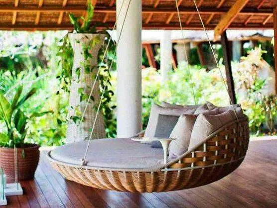 Most Popular 25+ Relaxing Hanging Beds For Absolute Enjoyment (View 3 of 20)