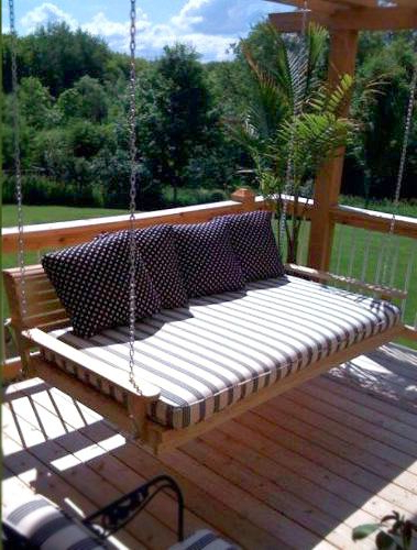 Most Popular Beautiful Hanging Porch Beds (Gallery 17 of 20)