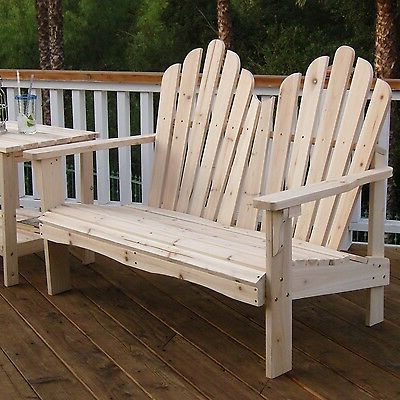 Most Popular Cedar Colonial Style Glider Benches In Outdoor Cedar Wood Garden Bench In Natural With 475lbs (View 13 of 20)