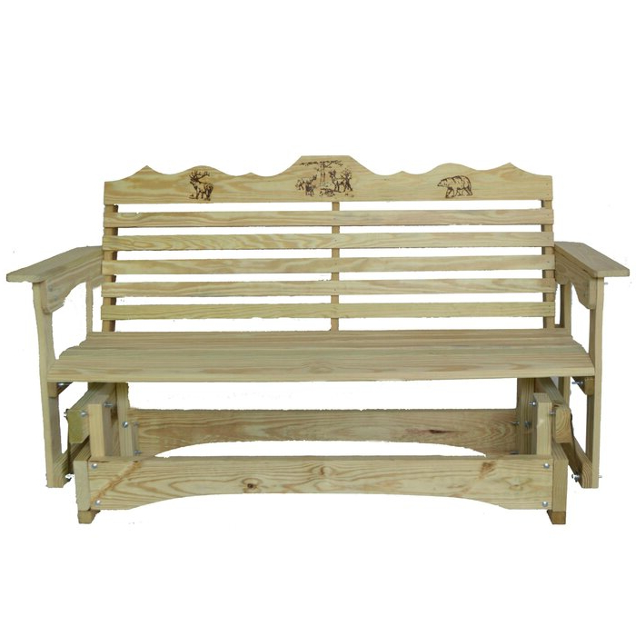 Most Popular Iron Grove Slatted Glider Benches For Glider Bench (View 7 of 20)