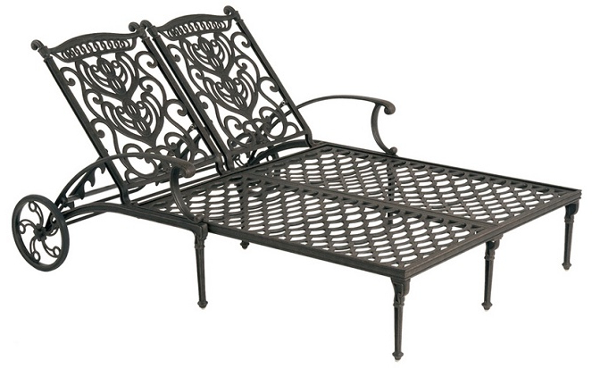Most Popular New Hanamint Grand Tuscany Patio Furniture Idea Or 27 Inside Aluminum Outdoor Double Glider Benches (View 19 of 20)
