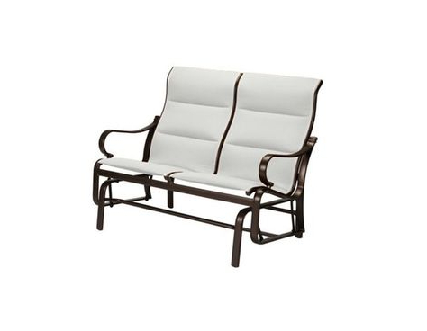 Most Popular Padded Sling Double Gliders With Regard To Best Torino Padded Sling Double Glider Chair With Cushion (View 10 of 20)