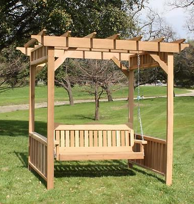 Most Recent Deluxe Porch Swing Hardware Kit Heavy Duty Springs Ceiling Pertaining To 5 Ft Cedar Swings With Springs (Gallery 17 of 20)