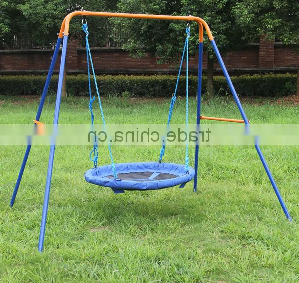 Most Recent Dks Metal Ourdoor Nest Swing Sets For Adult, Rope Swing Inside Nest Swings With Adjustable Ropes (View 12 of 20)