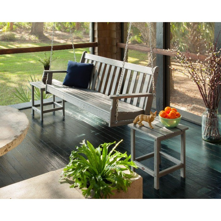 Most Recent Vineyard Porch Swings In Polywood® Vineyard 60 Porch Swing (View 9 of 20)