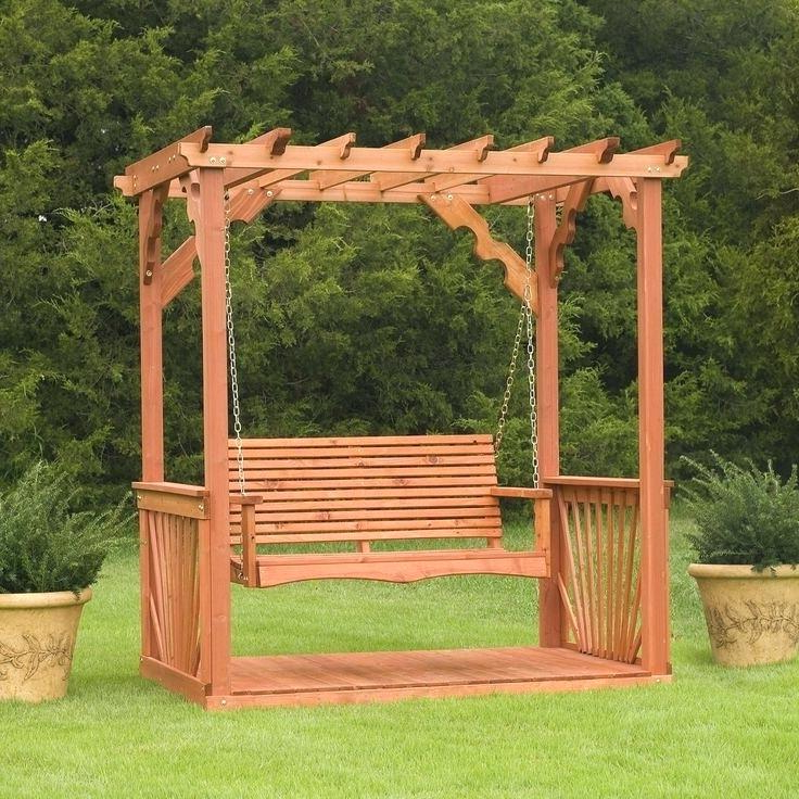 Most Recent Wood Porch Swing Kits – Autocolombia (View 14 of 20)